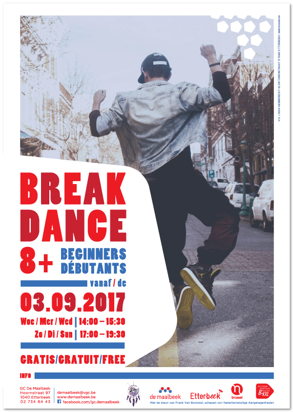 DE-MAALBEEK_BREAKDANCE_poster